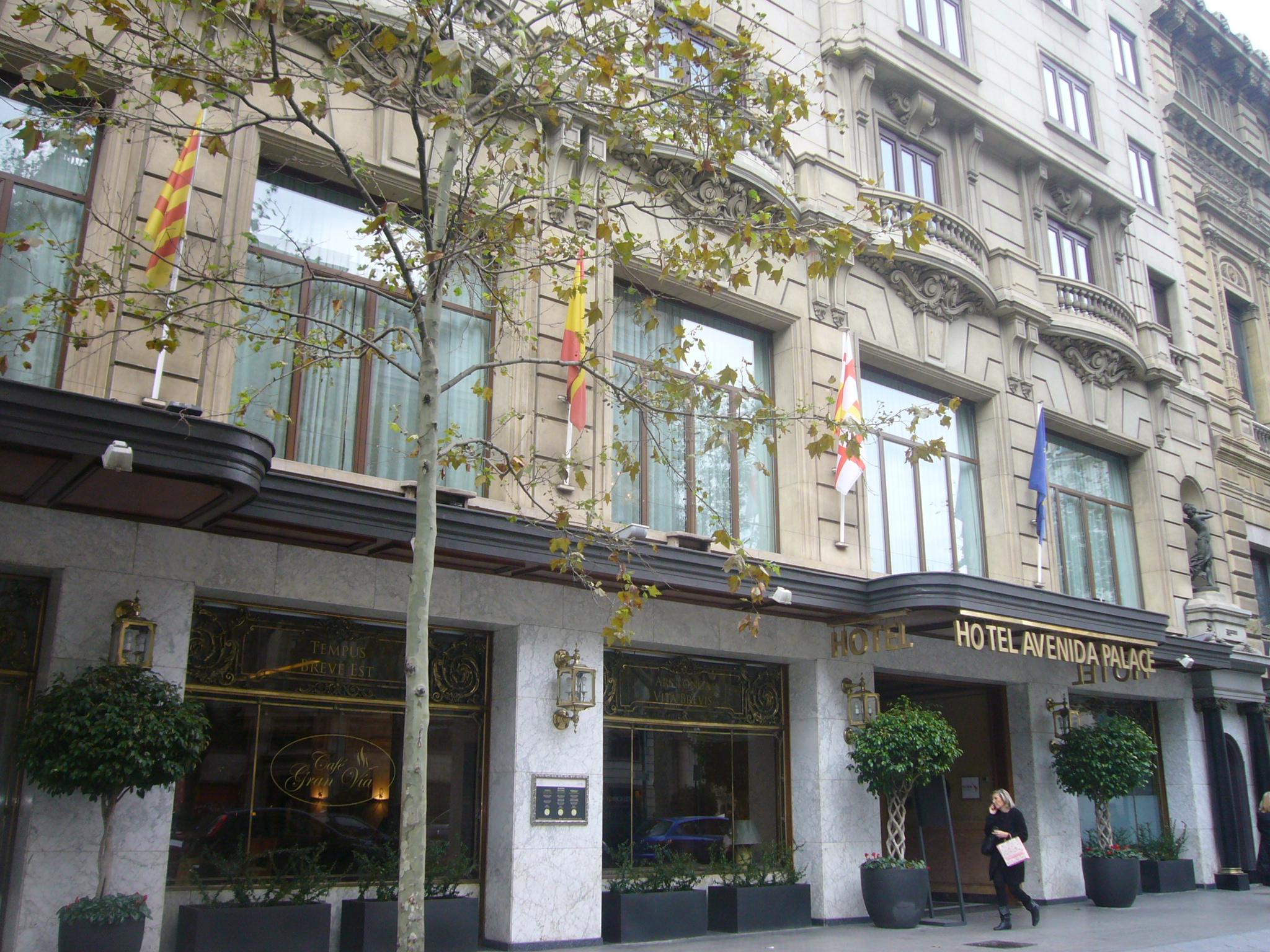 Hotel Barcelona Avenida Palace