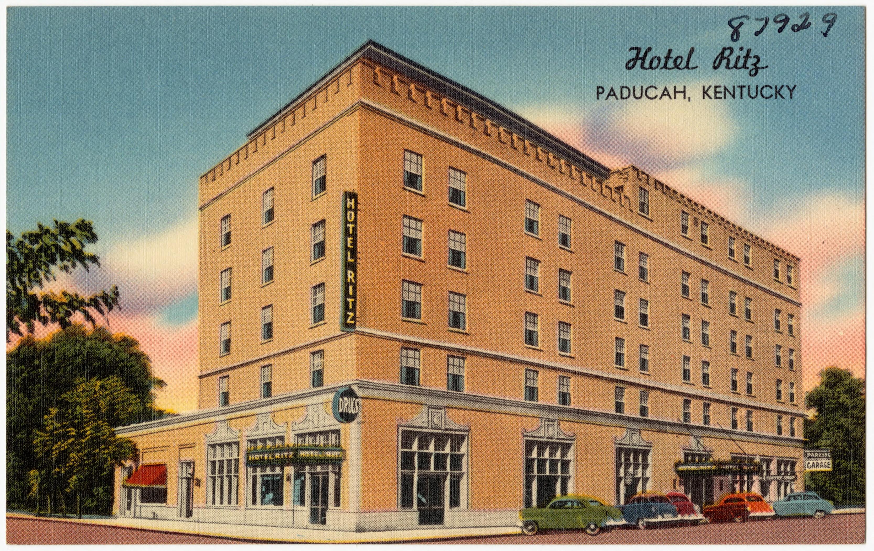 File Hotel Ritz Paducah Kentucky 87929 Jpg