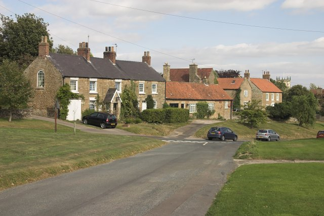 Houses at Terrington - geograph.org.uk - 558005