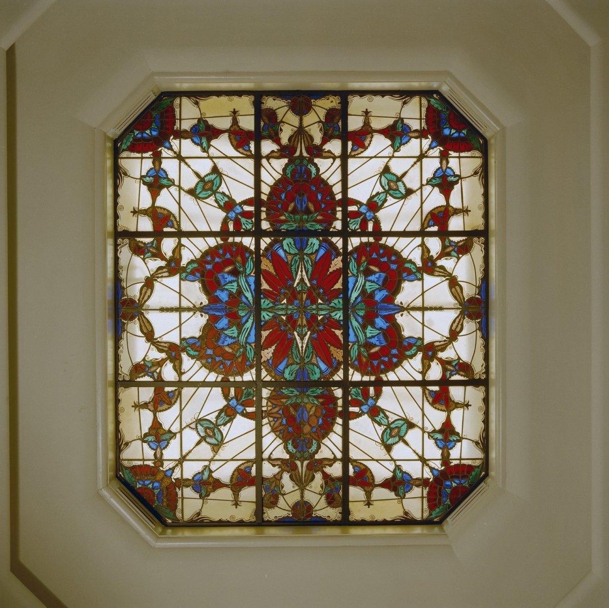 file interieur badkamer art deco plafond raam den dolder 20280122 wikimedia. Black Bedroom Furniture Sets. Home Design Ideas