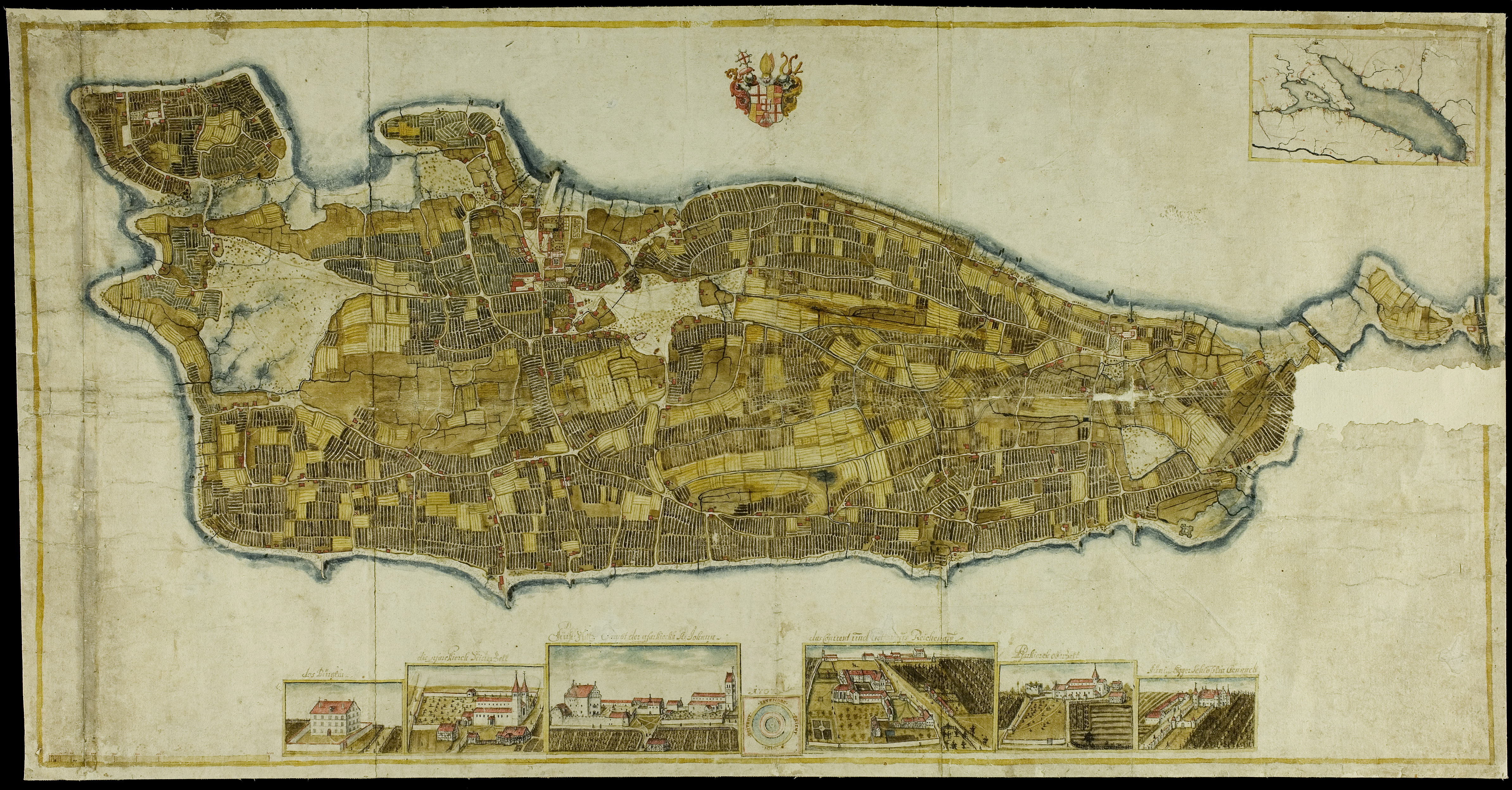 Insel Reichenau Karte.Datei Insel Reichenau Karte 1707 Jpg Wikipedia