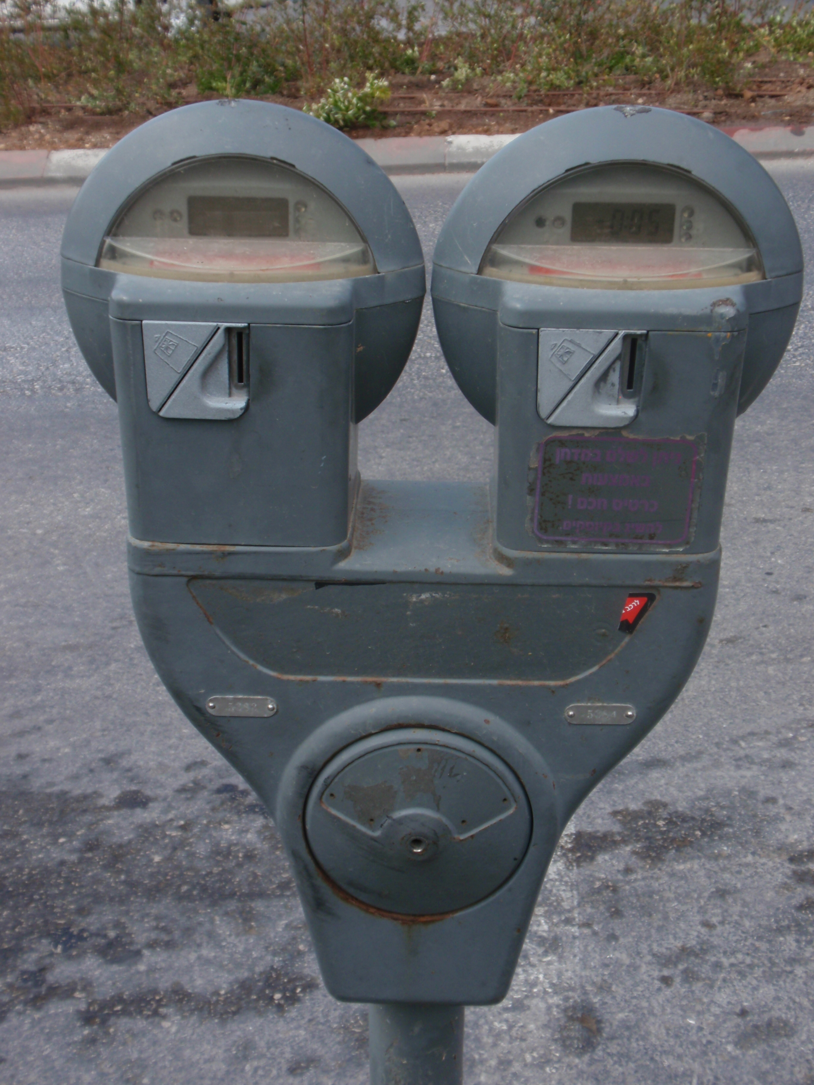 Parking Meters And Electric Cars