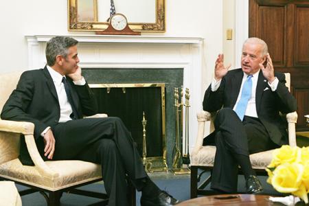 Joe Biden & George Clooney