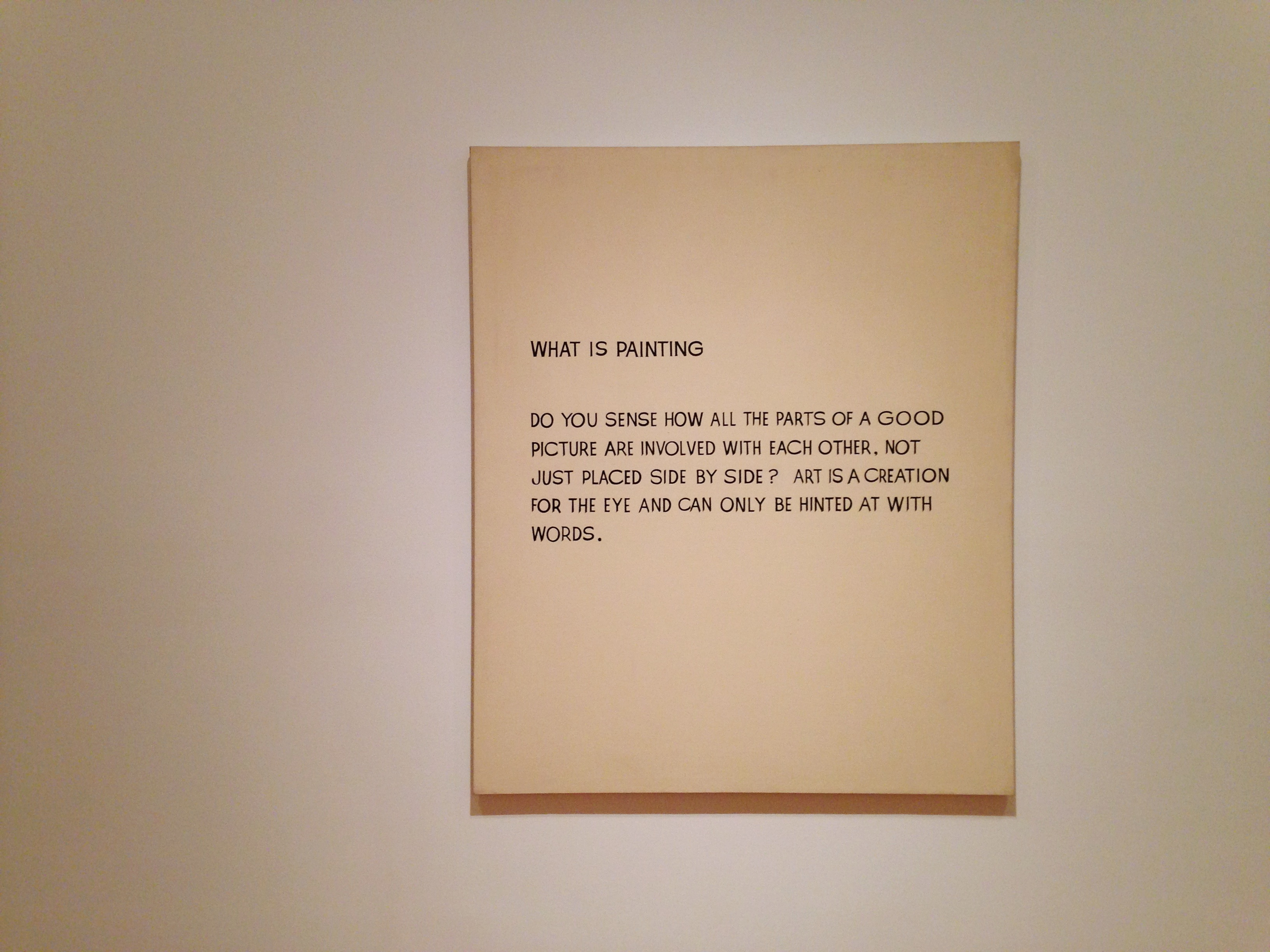 """Image result for john baldessari What Is Painting"""""""