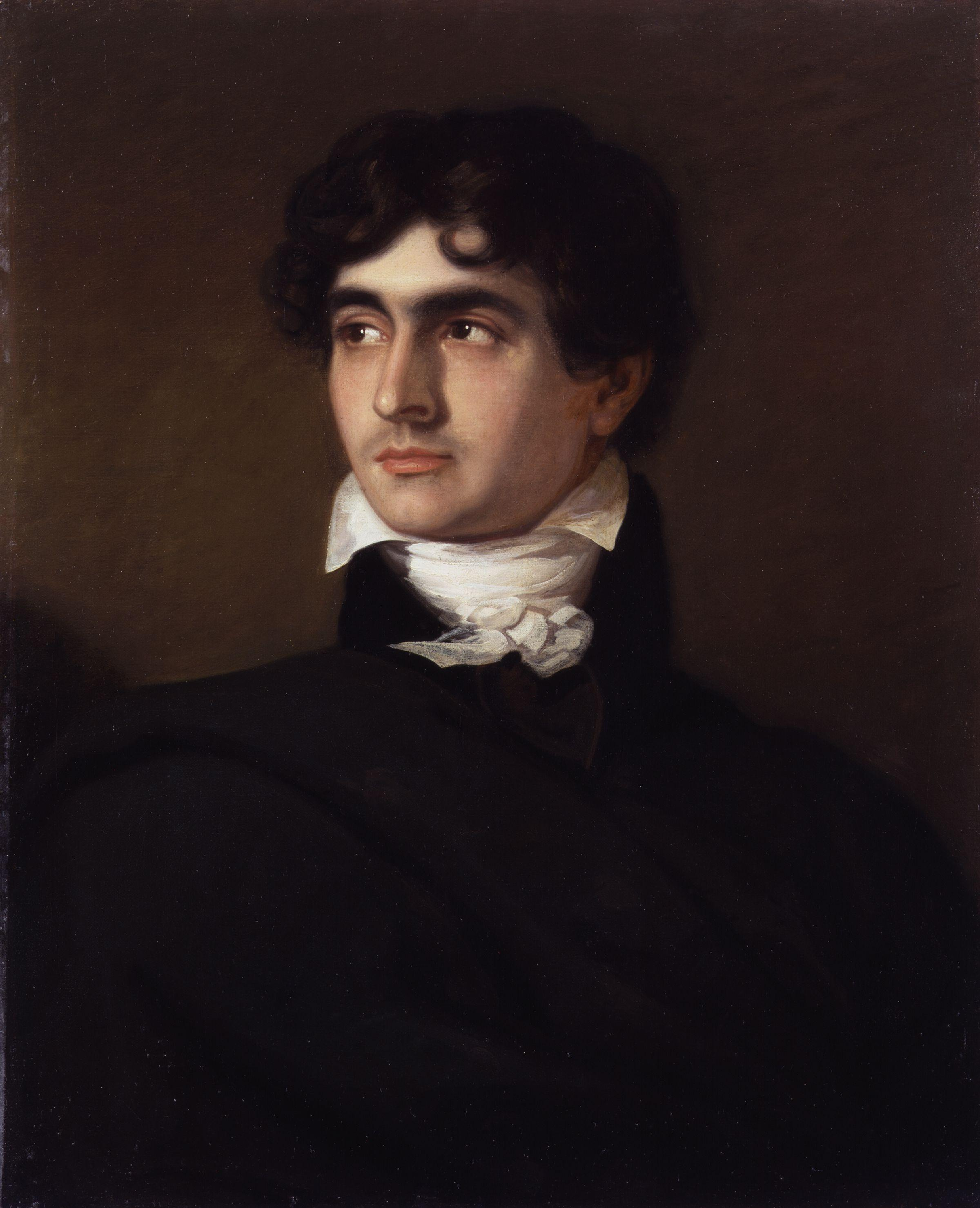 John Polidori by F.G. Gainsford