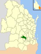 Shire of Jondaryan Local government area in Queensland, Australia