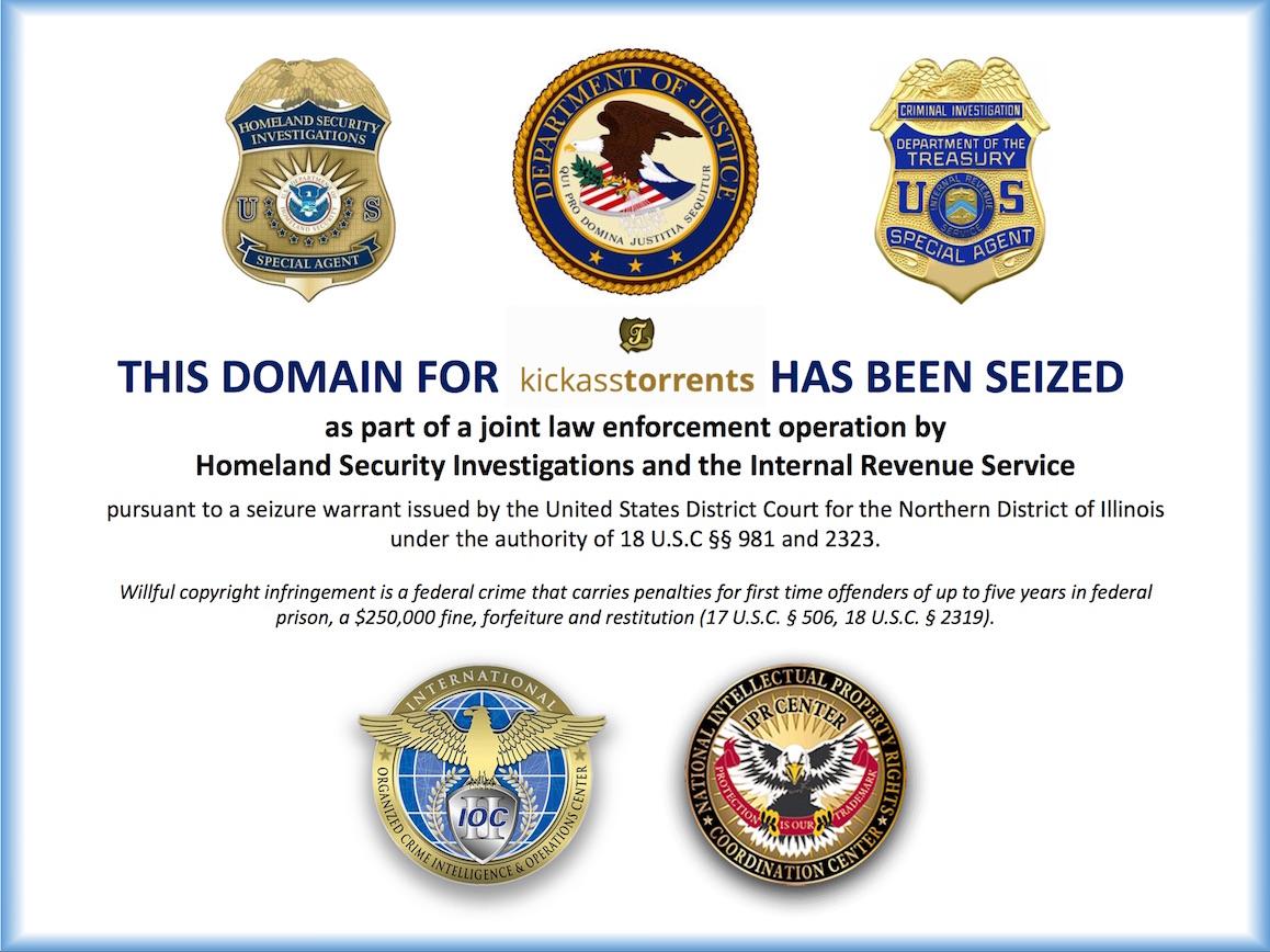 Archivo:KickassTorrents Domain seizure.jpg - Wikipedia, la ...