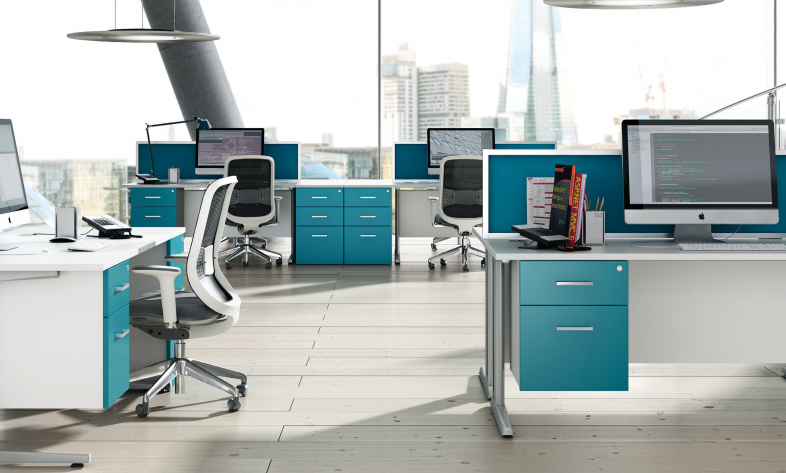 File Kit Out My Office's 'HD Colour'  blue photo   office furniture on contemporary office desk furniture