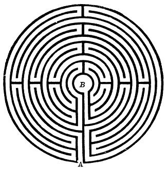 Medieval labyrinth