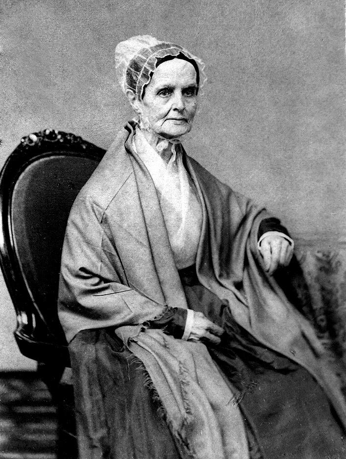 Lucretia Mott - Wikipedia, la enciclopedia libre
