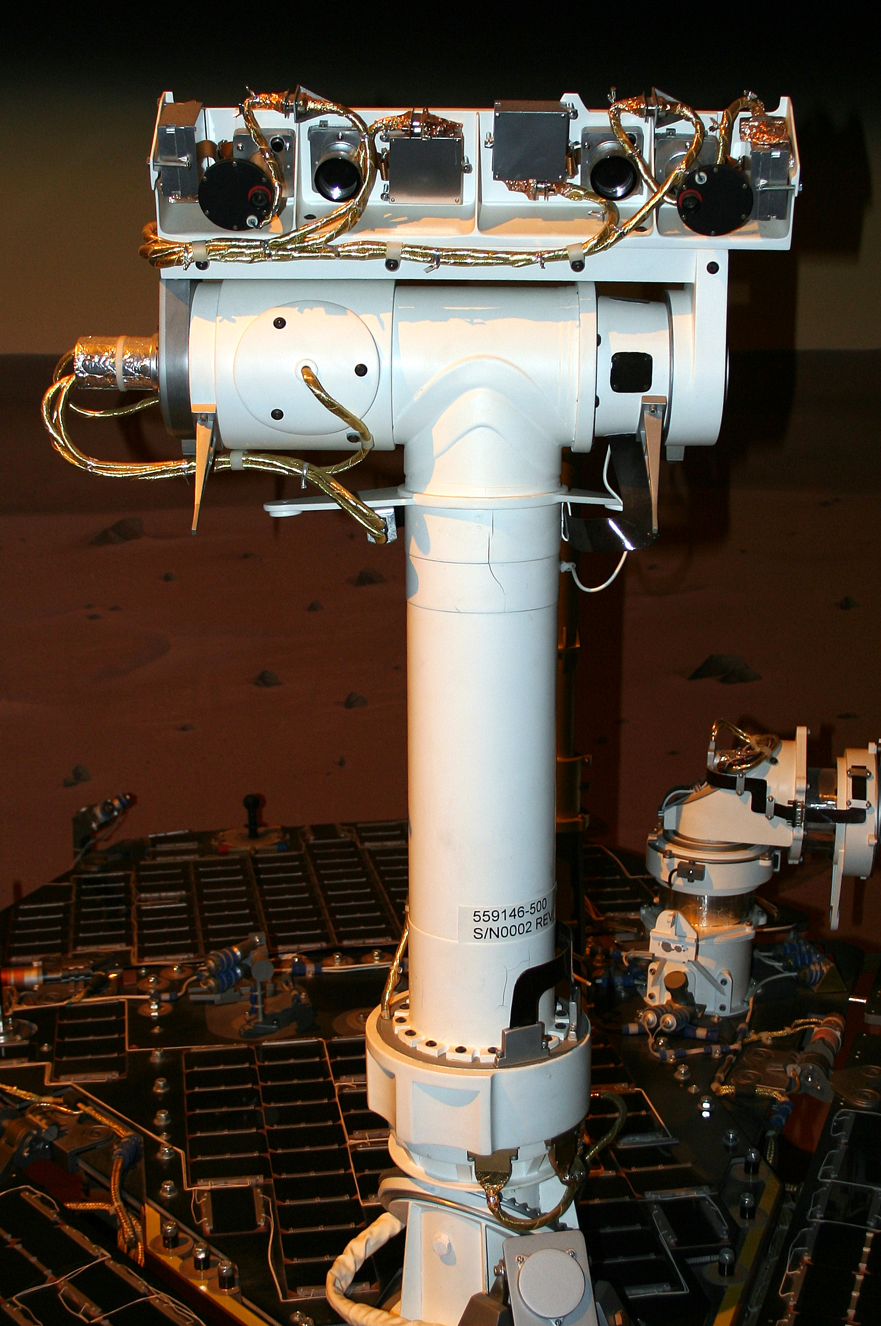 Znalezione obrazy dla zapytania: opportunity rover pancam mast assembly