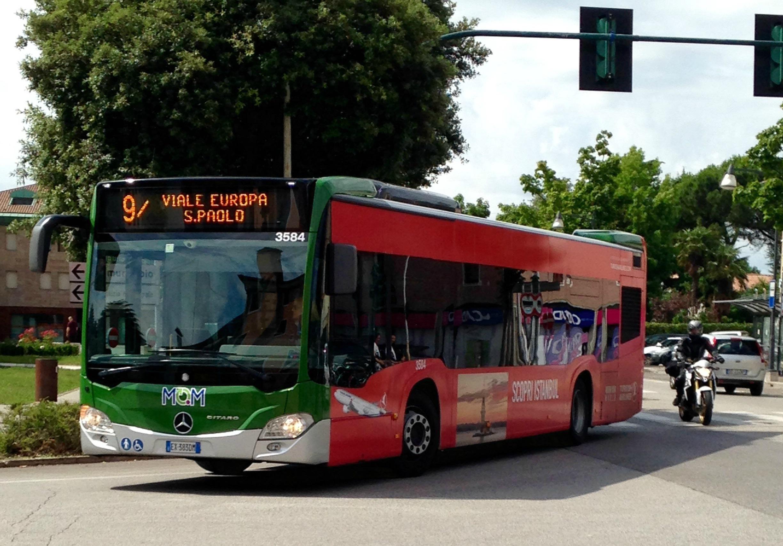 File Mom Mobilit Di Marca Treviso Autobus Pellicolato