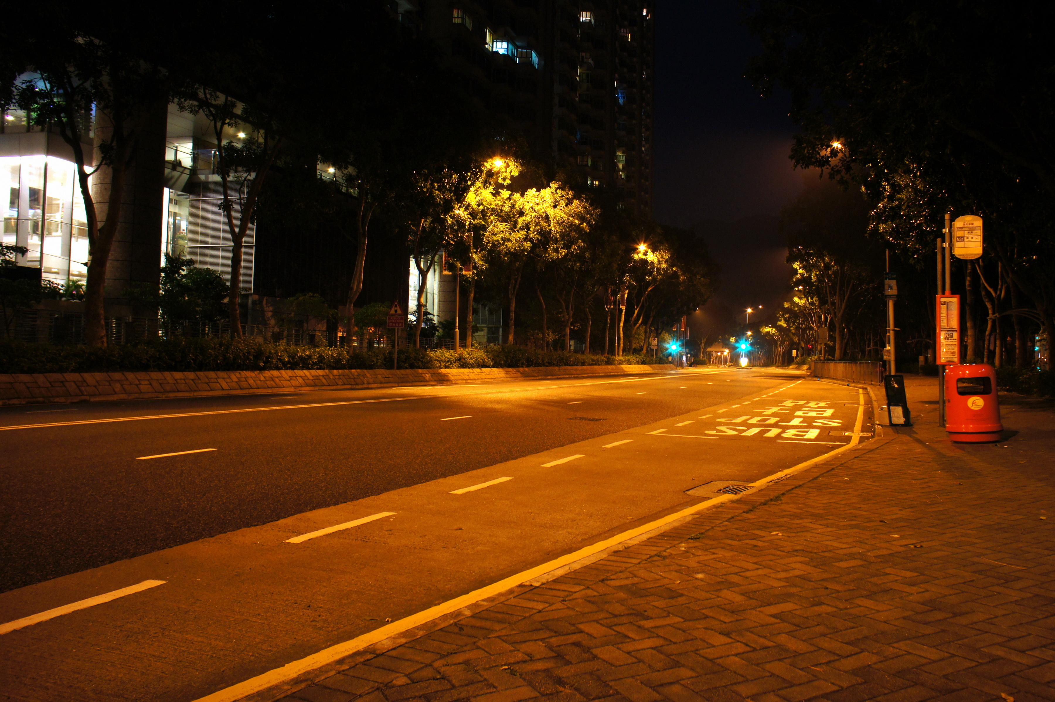 File Man Tung Road At Night Hong Kong Jpg Wikimedia
