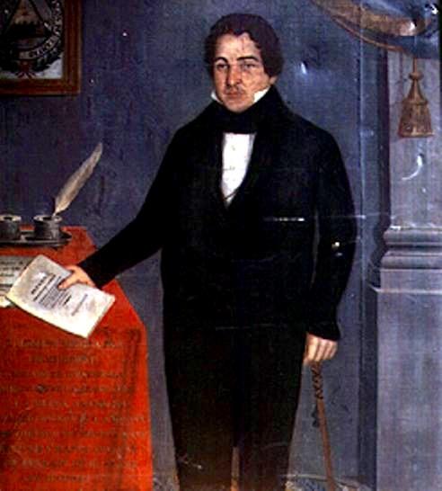 Retrato oficial del licenciado Mariano Rivera Paz
