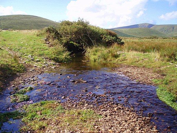 File:Meandering stream - geograph.org.uk - 220050.jpg