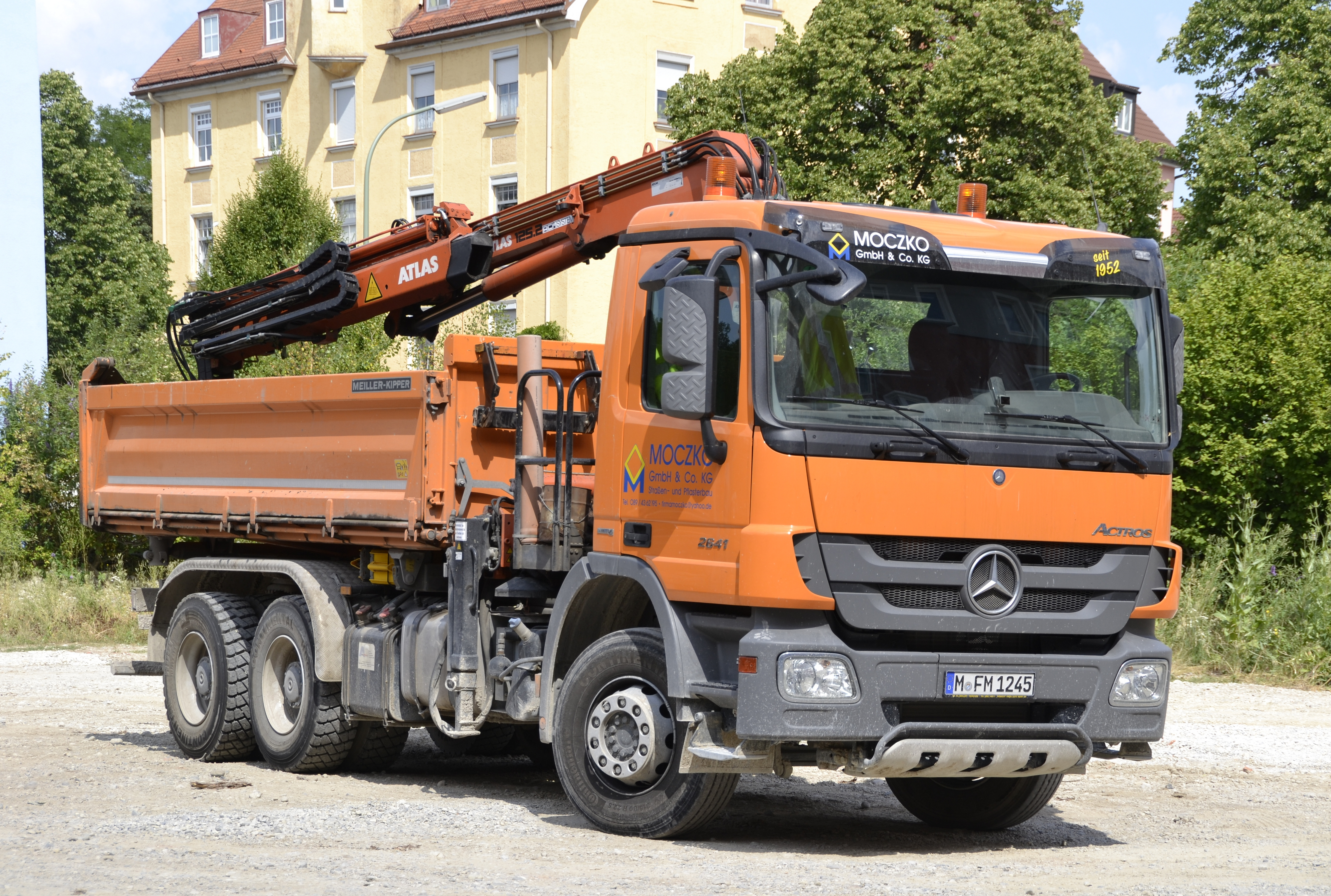 File Mercedes Benz Actros 2641 Jpg Wikimedia Commons