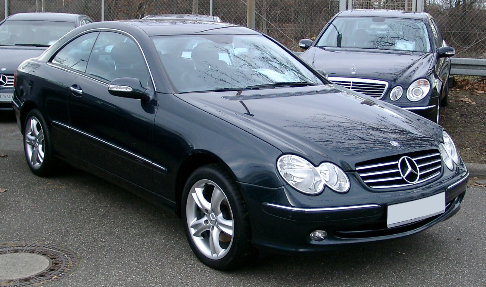 mercedes benz w209 wikipedia wolna encyklopedia. Black Bedroom Furniture Sets. Home Design Ideas