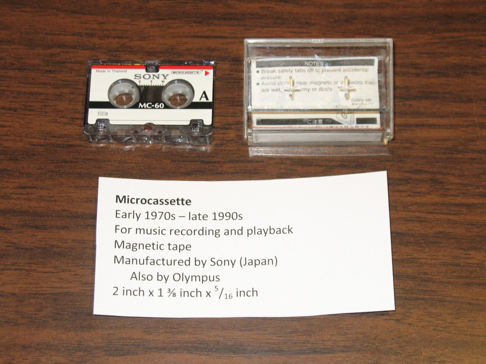 File:Microcassette - Government & Heritage Library, State