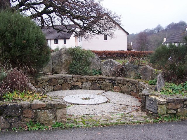 Millennium memorial, Sticklepath - geograph.org.uk - 1092444