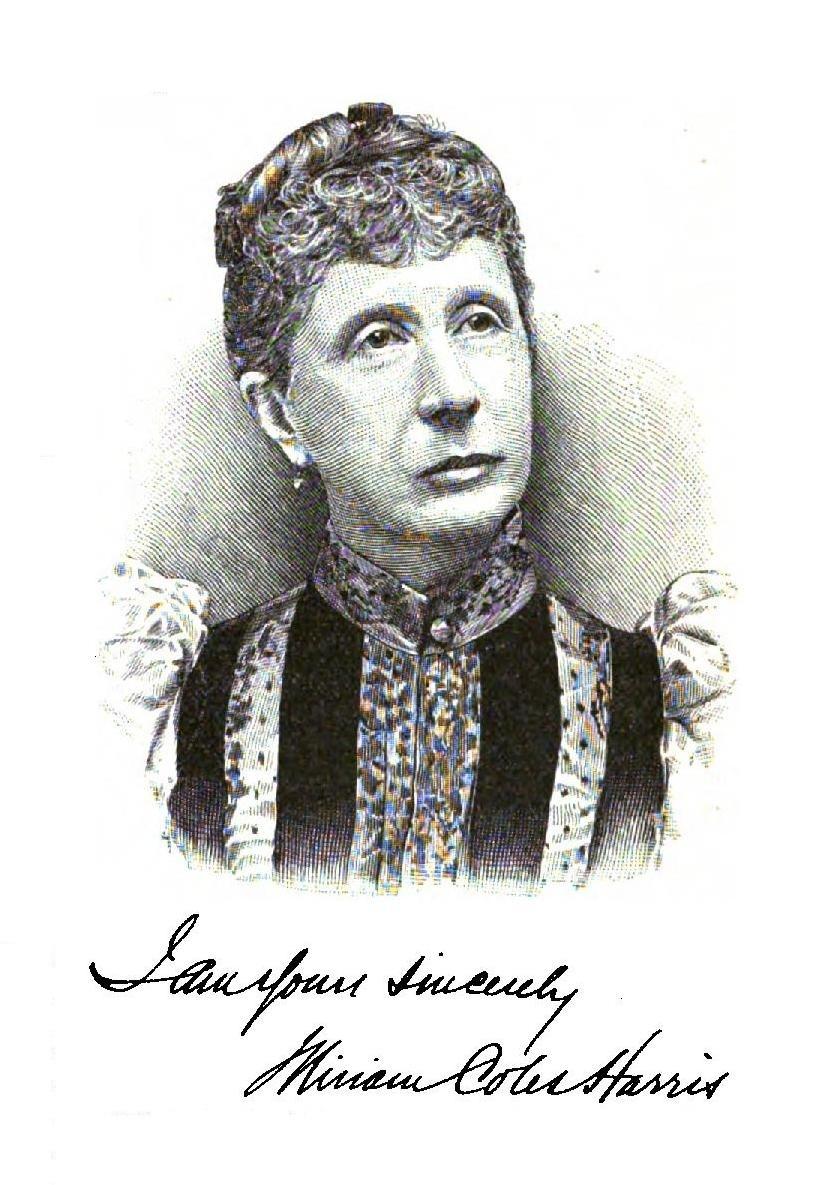 Miriam Coles in ''Book News'' 1894