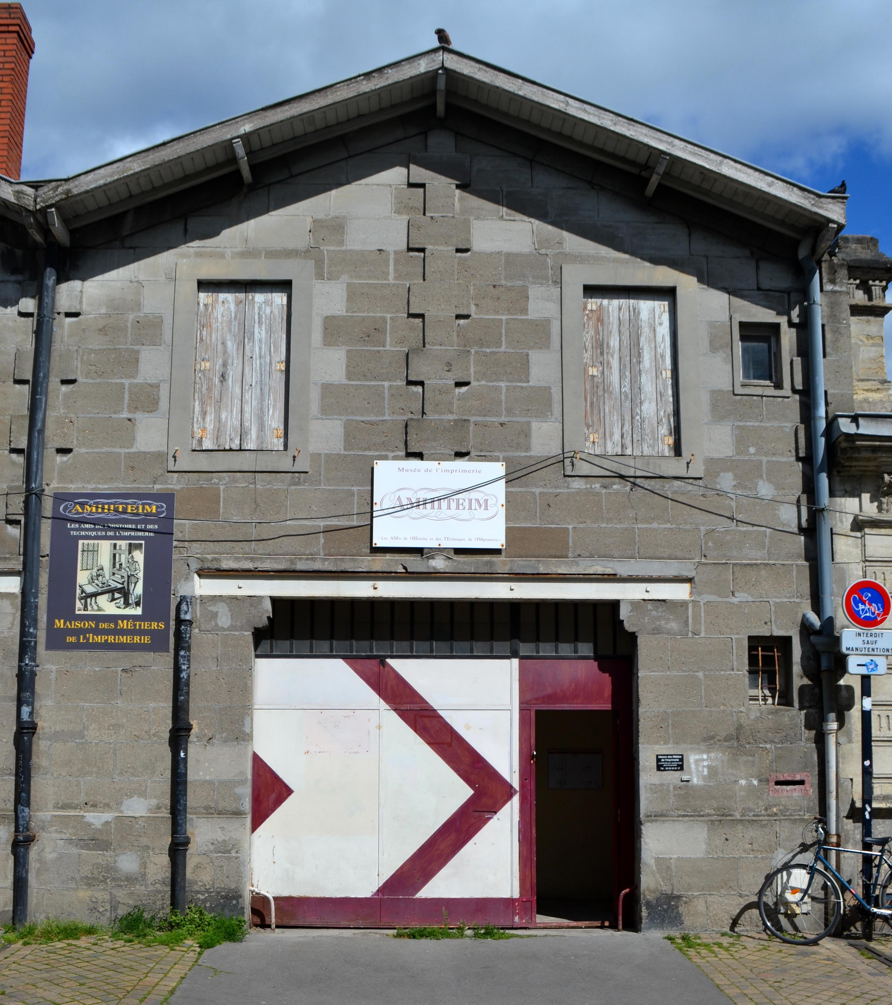 Imprimerie De L Ouest Parisien musée des métiers de l'imprimerie de bordeaux — wikipédia