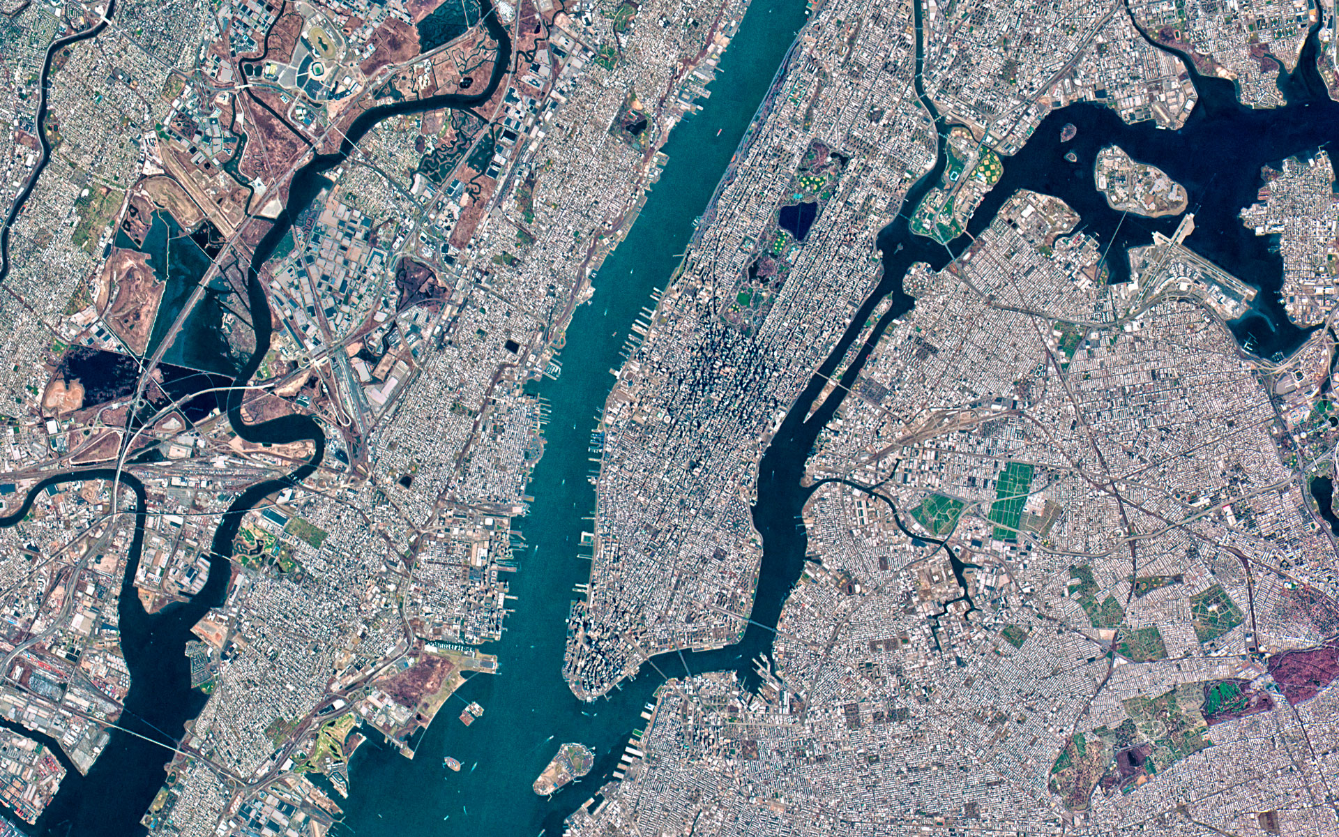 FileNew York City USA Satellite View