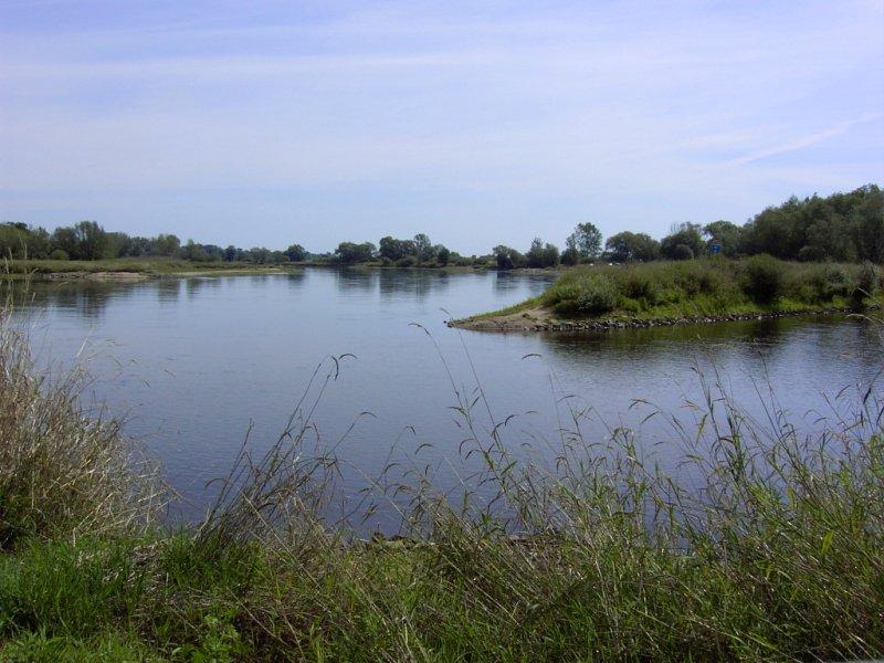 Neiße-Mündung in die OdDer bei Ratzdorf