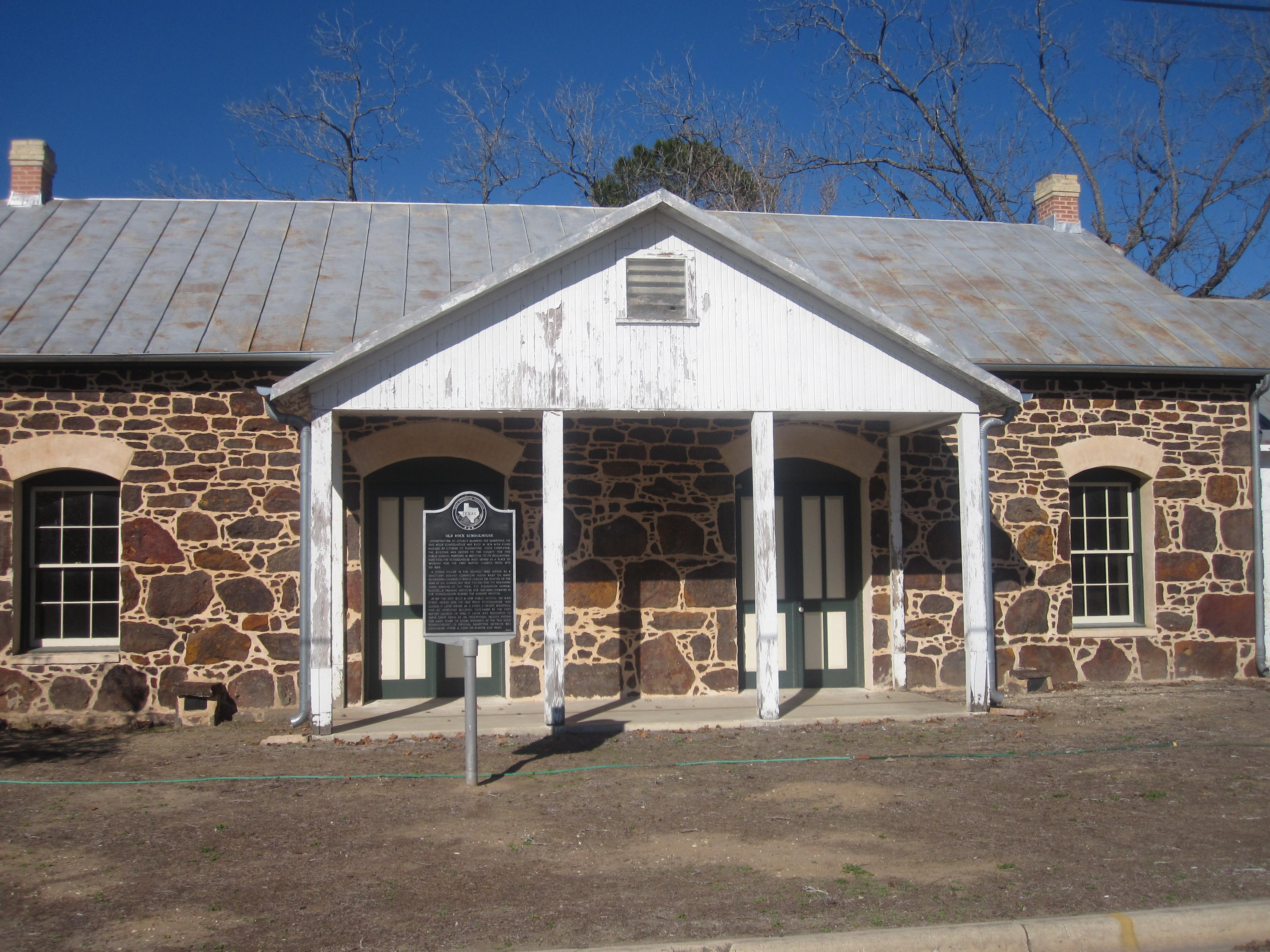 File Old Rock Schoolhouse In Pleasanton Tx Img 2596 Jpg Wikimedia