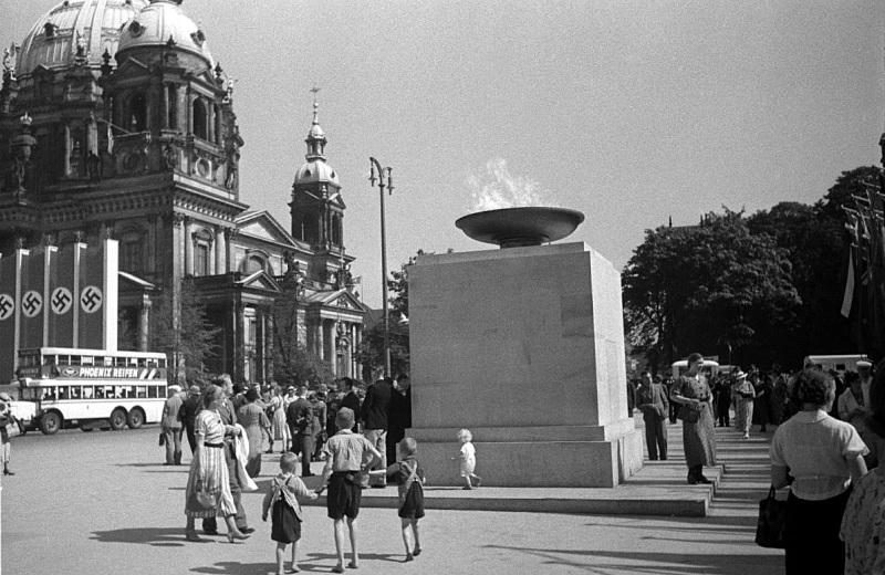 Olympic Fire in Berlin 1936