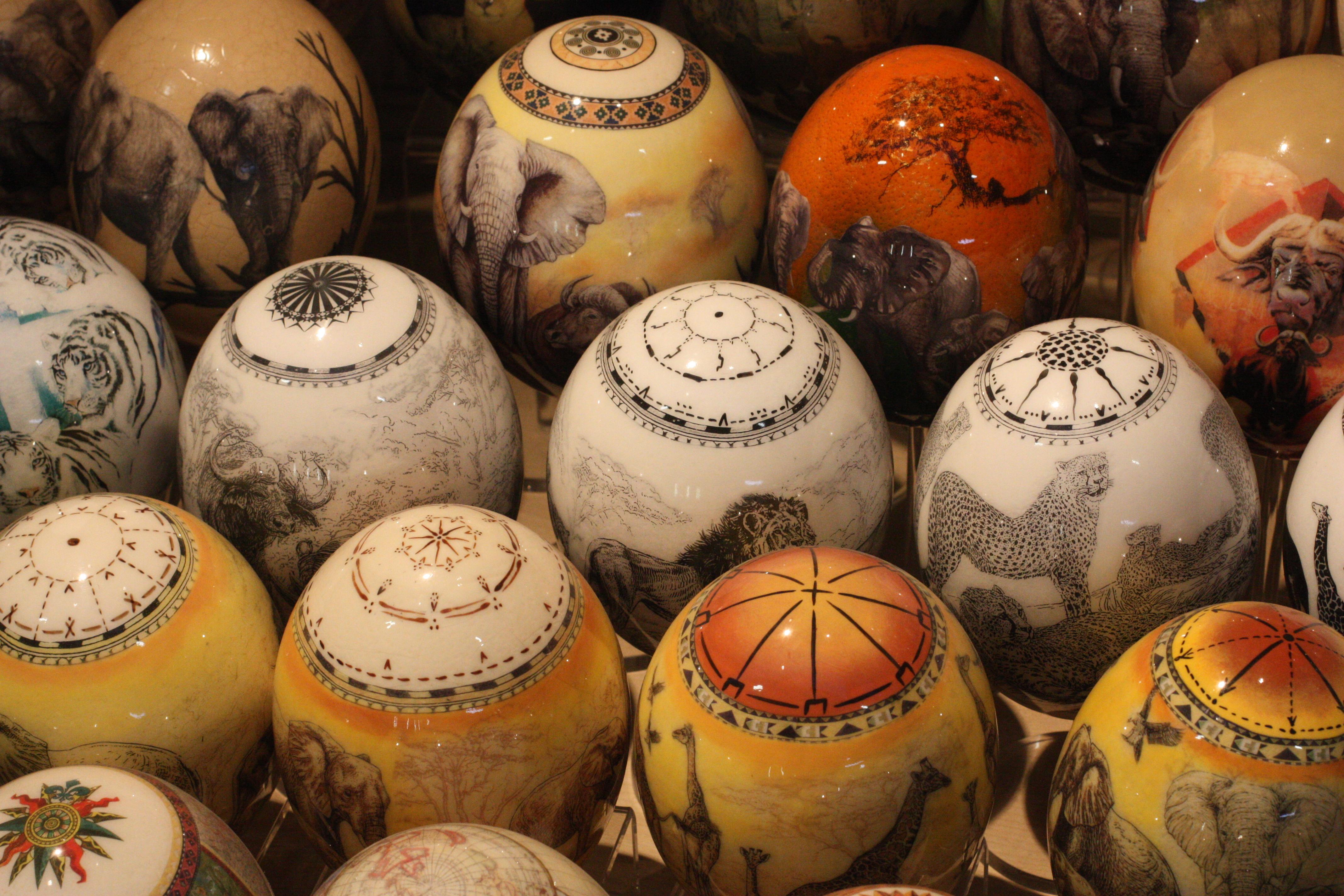 Ostrich Egg | Harga Cantik