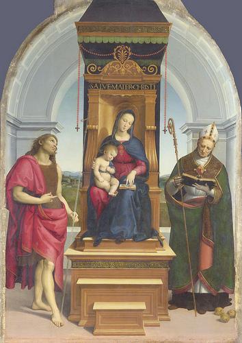 Foligno. Presentazione restauro copia Madonna di Foligno