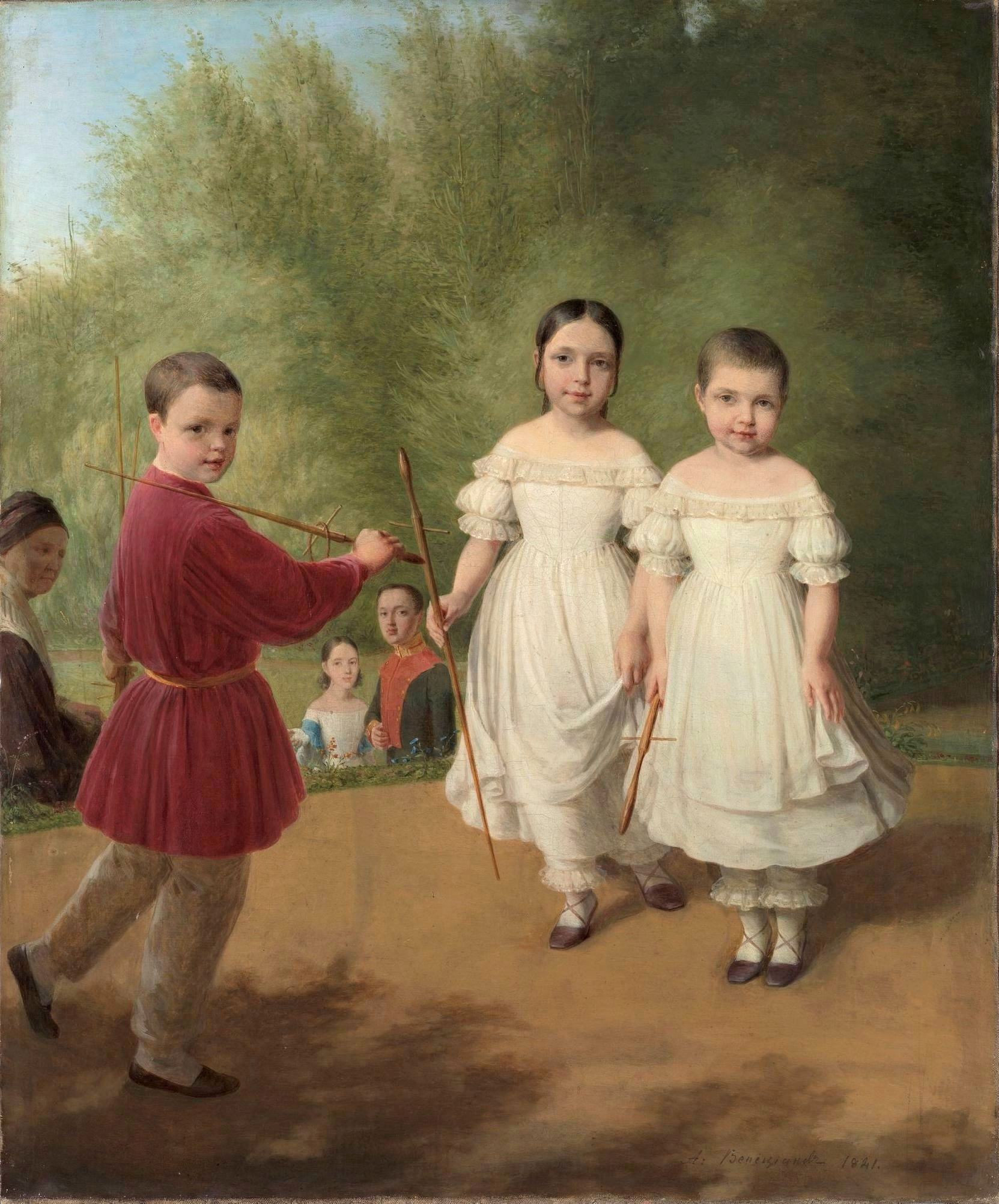 https://upload.wikimedia.org/wikipedia/commons/1/1c/Panaevs_children_by_Venetsianov.jpg