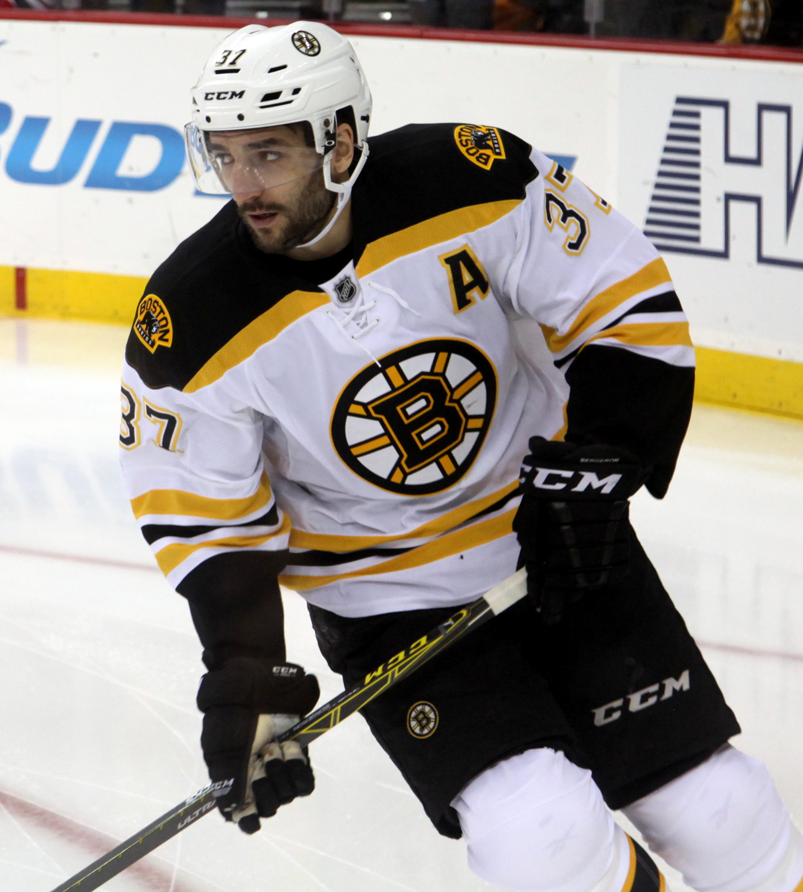 The 33-year old son of father Gerard Cleary and mother(?) Patrice Bergeron in 2018 photo. Patrice Bergeron earned a 7.5 million dollar salary - leaving the net worth at 23 million in 2018