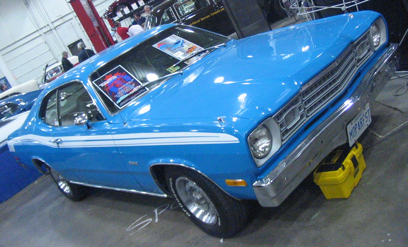 File:Plymouth Duster (Toronto Spring \'12 Classic Car Auction).JPG ...
