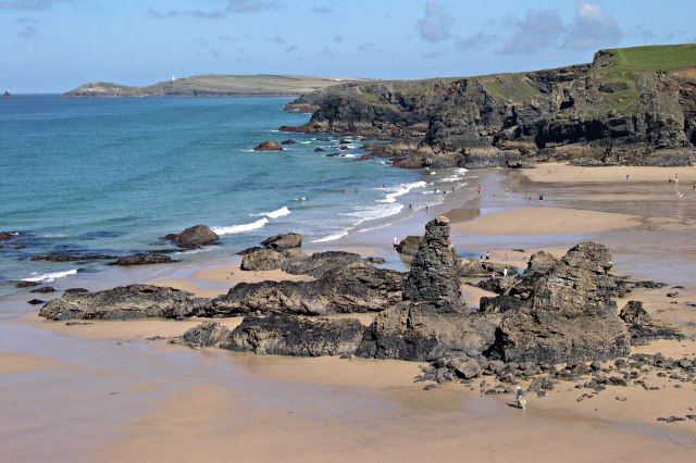 File:Porthcothan Beach - geograph.org.uk - 314462.jpg