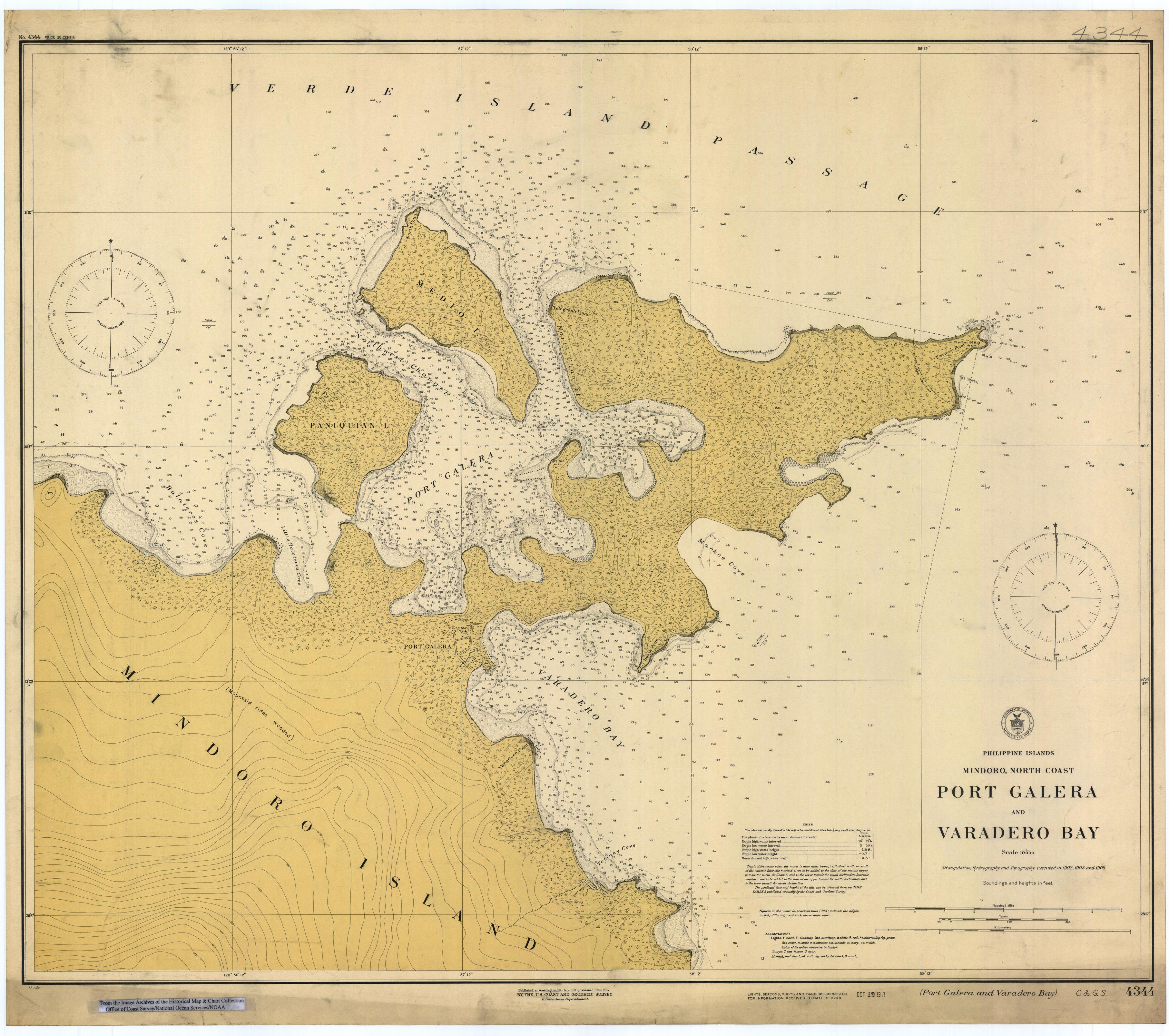 Old Nautical ChartOld Nautical Chart