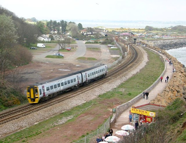 File:Railway line at Dawlish Warren - geograph.org.uk - 71381.jpg
