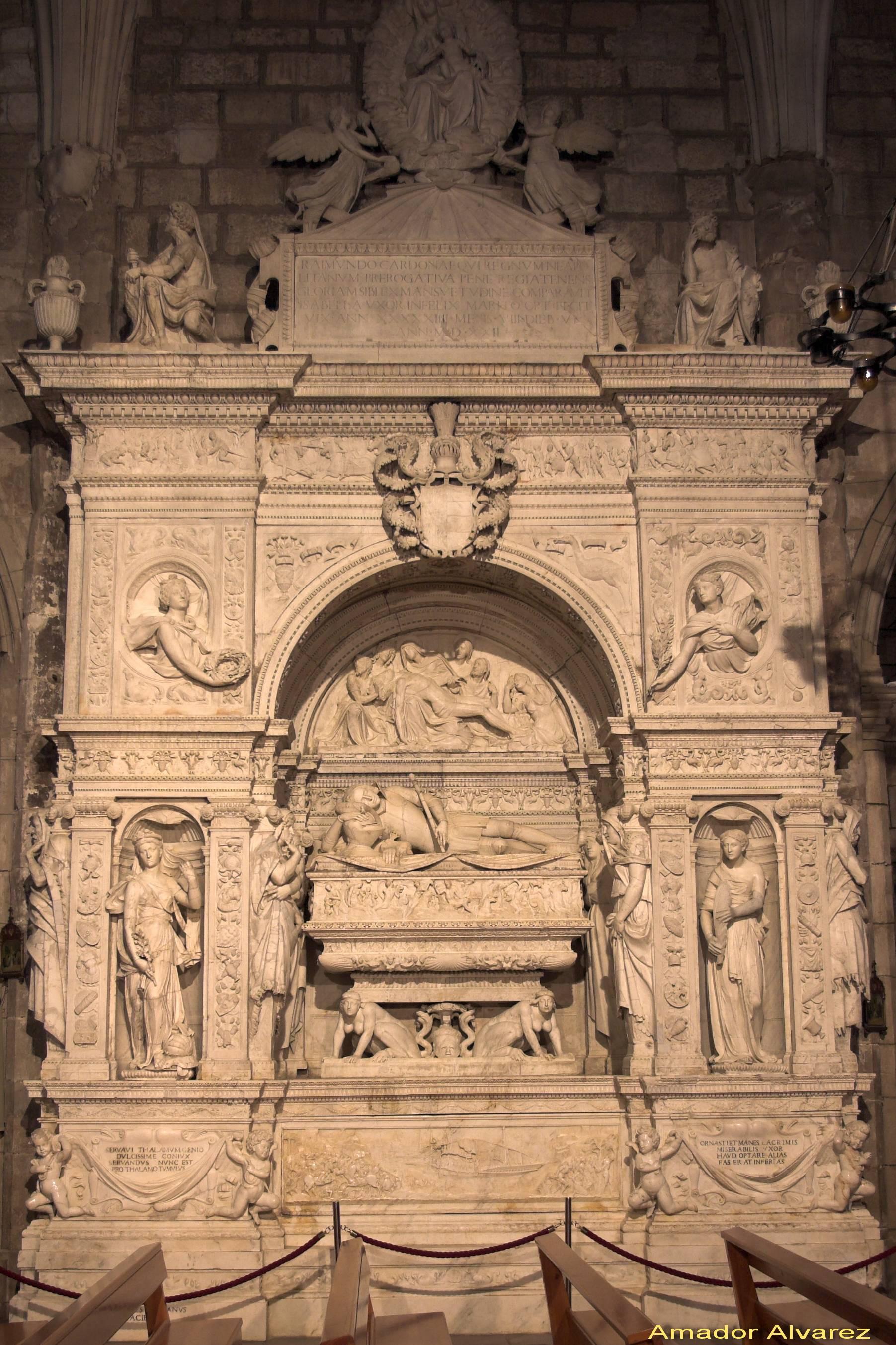 Sepulcro de Ramón Folc de Cardona-Anglesola