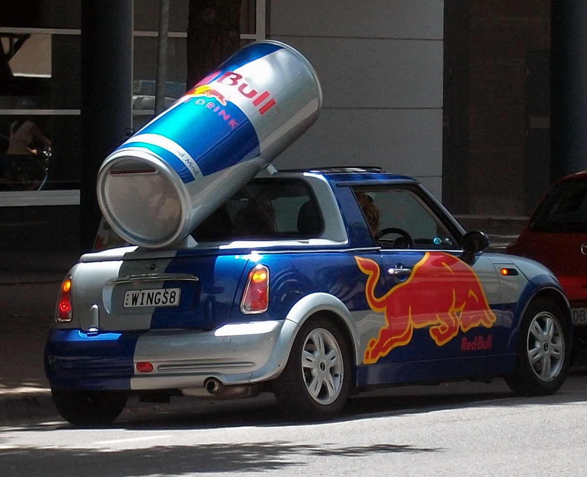 red bull advertising The rumor about bull sperm originates from the the fact that red bull advertises  that it includes taurine, a name that if broken into its constituent.