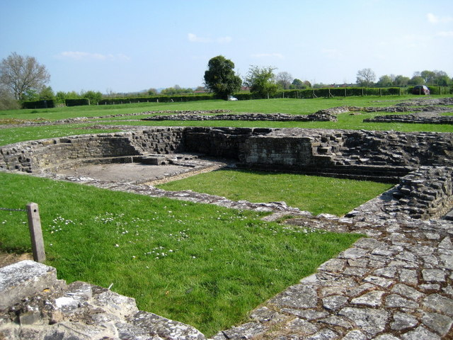 Remains of Anglo-Saxon church Muchelney - geograph.org.uk - 1260481