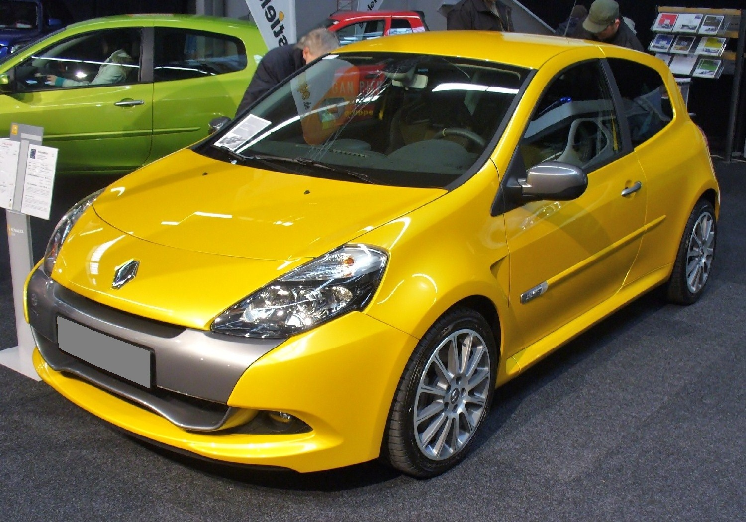 file renault clio rs 2 0 16v wikimedia commons. Black Bedroom Furniture Sets. Home Design Ideas