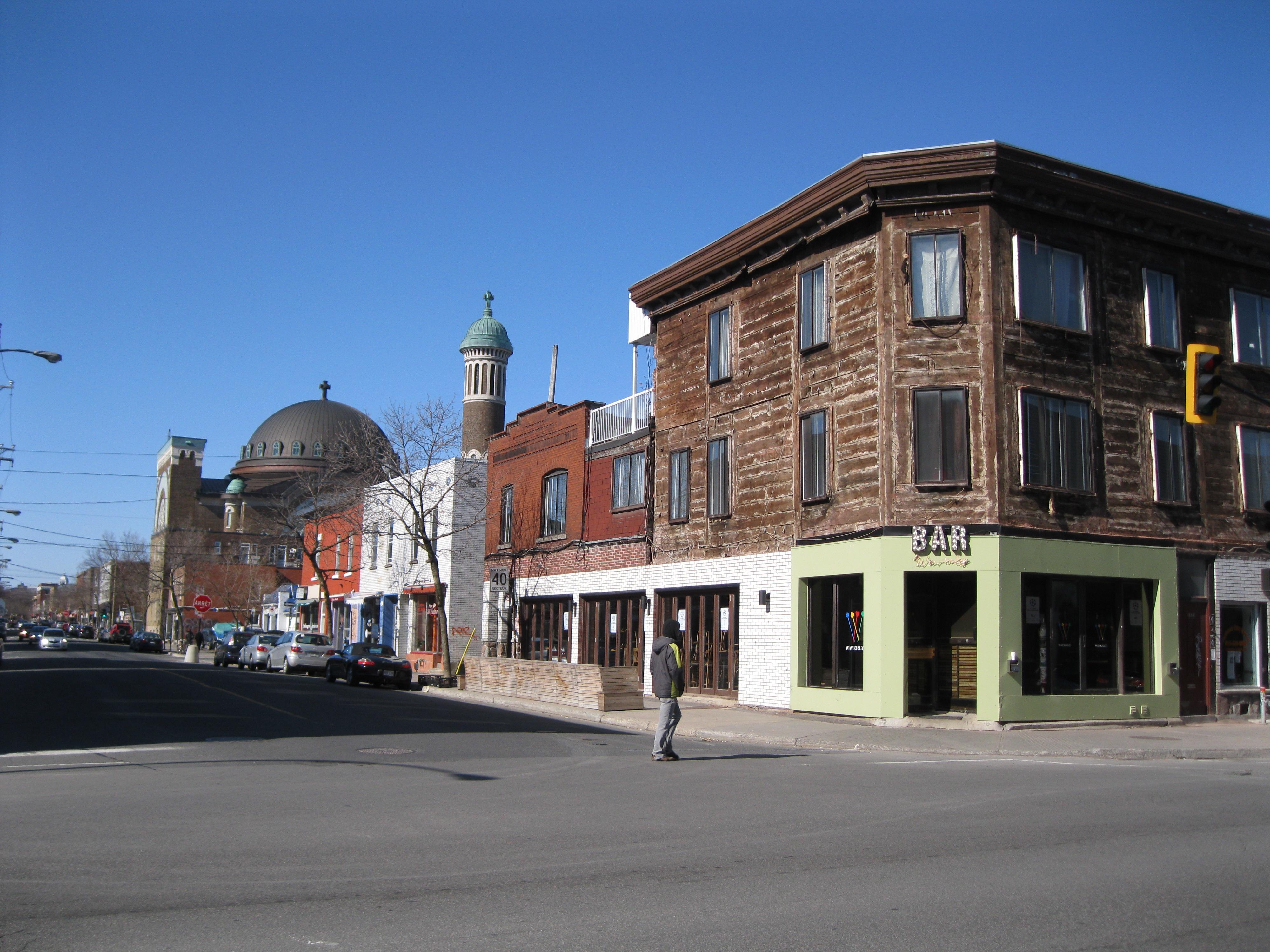 File rue saint viateur boulevard saint laurent for Boutique meuble rue st laurent montreal