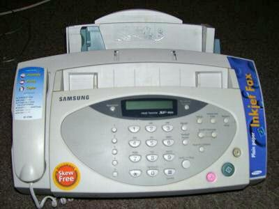 definition of fax machine