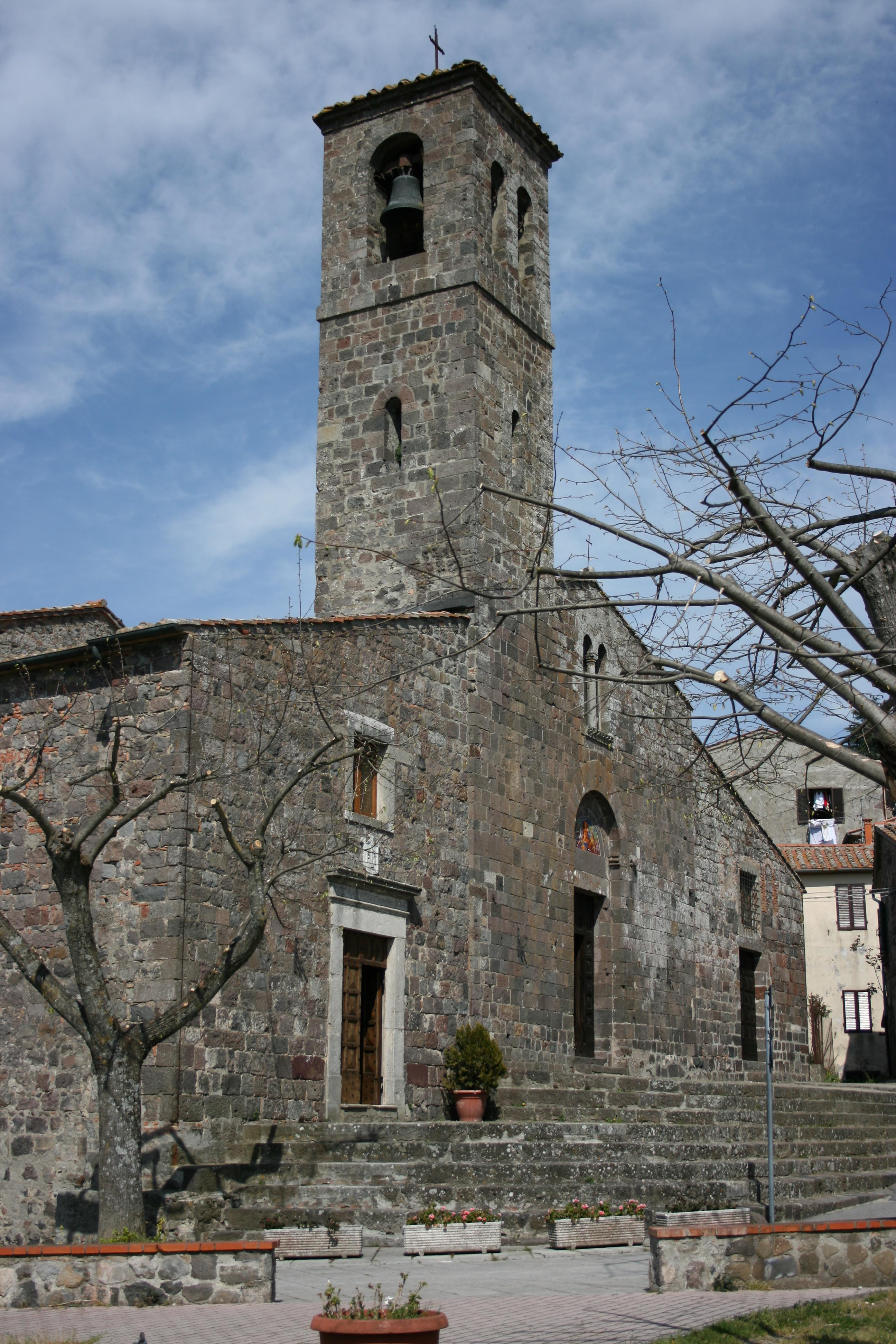 Radicofani Italy  city photo : San pietro radicofani 1 Wikimedia Commons