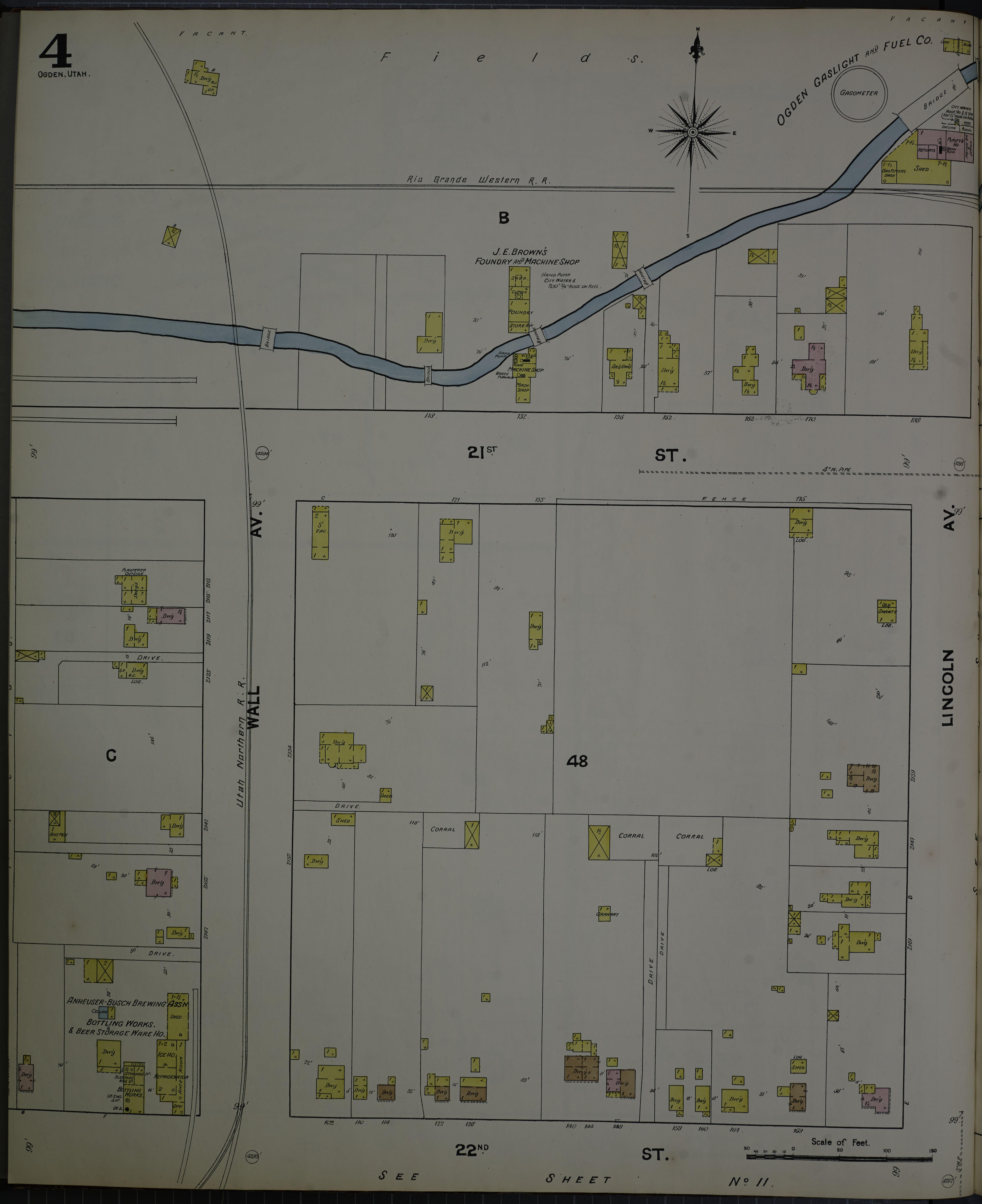 File:Sanborn Fire Insurance Map From Ogden, Weber County