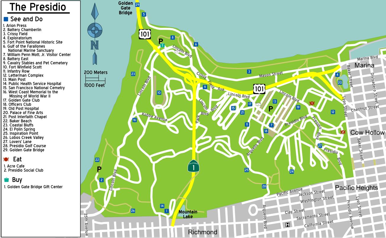 File Sanfrancisco Presidio Map Png Wikimedia Commons