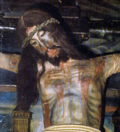 Santo Cristo. Detalle del torso