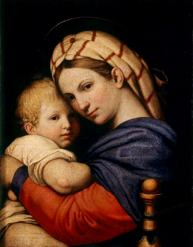madonna and child by Madonna and child c 1609 oil on canvas 1165m by 0865m spada gallery, rome the painting lthough unsigned, some authors (garrard) believed that this is artemisia's earliest known painting, which she based on a madonna painted by her father.