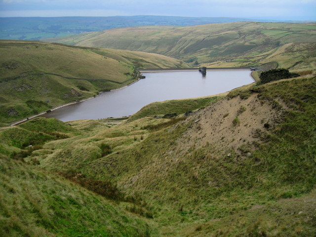 Scout Moor High Level Reservoir - geograph.org.uk - 557616