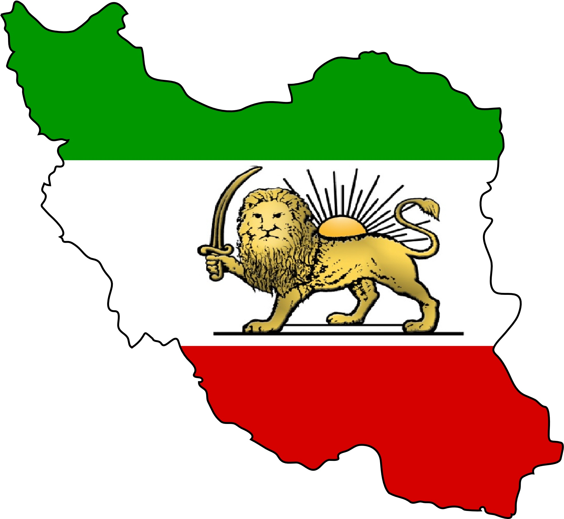 file shir   khorshid lion and sun map iran jpg wikimedia free graphics images religious free graphics images sites